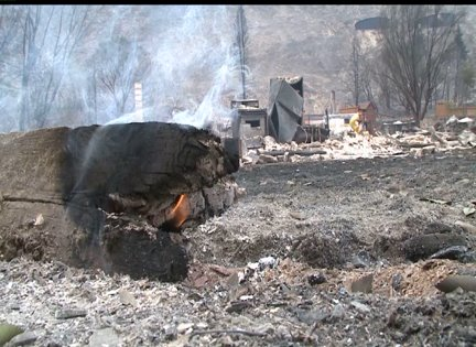Dozens of homes burned in Okanogan County