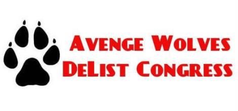 Avenge wolves delist Congress Justin F 1.