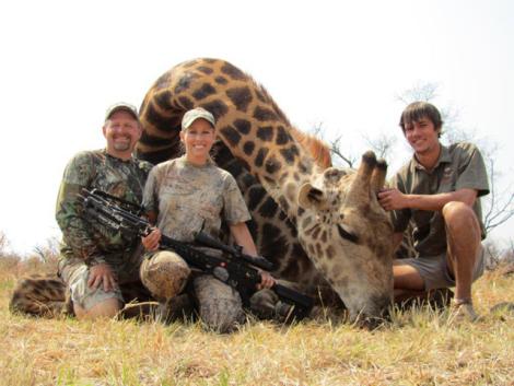 Trophy hunting a giraffe_Random storydotorg