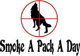 NT wolf bumpr stickr