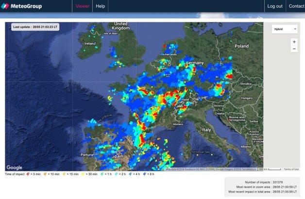 Lightning Strikes Europe