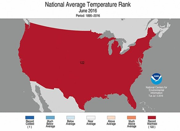 NOAA Record heat